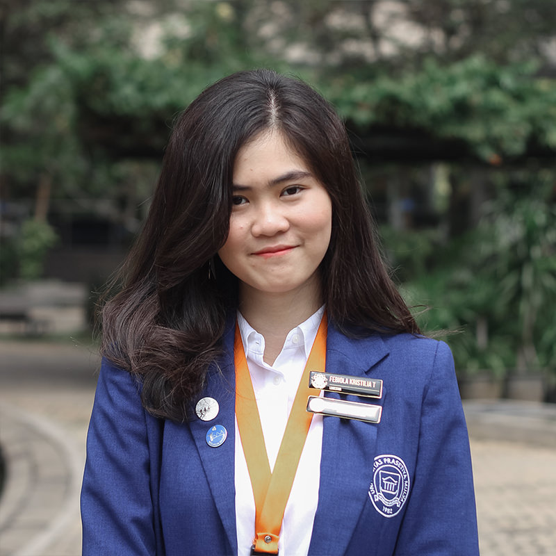 Febiola Kristilia Theola - Member of Research and Development Division
